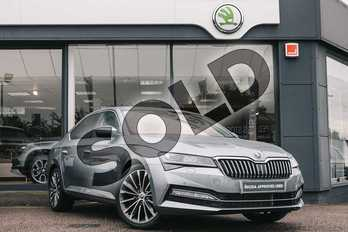 Skoda Superb 2.0 TSI 190 Laurin + Klement 5dr DSG in Business Grey at Listers ŠKODA Coventry