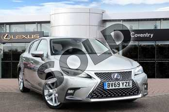 Lexus CT 200h 1.8 5dr CVT in Sonic Titanium at Lexus Coventry