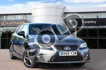 Lexus CT 200h 1.8 F-Sport 5dr CVT in Mercury Grey at Lexus Coventry