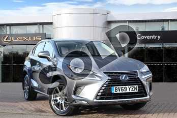 Lexus NX 300h 2.5 5dr CVT in Mercury Grey at Lexus Coventry