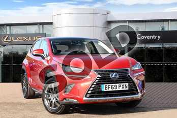 Lexus NX 300h 2.5 5dr CVT in Mesa Red at Lexus Coventry