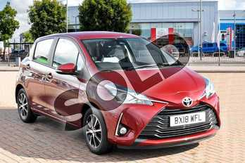 Toyota Yaris 1.5 VVT-i Icon Tech 5dr in Tokyo Red at Listers Toyota Cheltenham