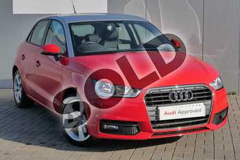 Audi A1 1.4 TFSI Sport 5dr in Misano Red Pearlescent at Stratford Audi