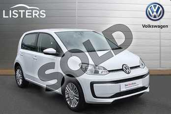 Volkswagen Up Special EDS 1.0 Move Up Tech Edition 5dr (Start Stop) in Pure White at Listers Volkswagen Stratford-upon-Avon