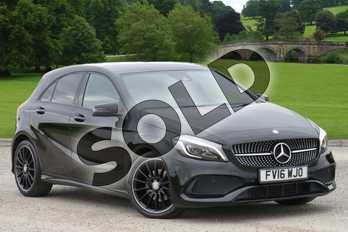 Mercedes-Benz A Class A200d AMG Line Premium 5dr in Cosmos Black at Mercedes-Benz of Boston