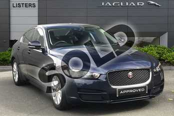 Jaguar XE Diesel 2.0d SE 4dr Auto in Light Blue at Listers Jaguar Droitwich