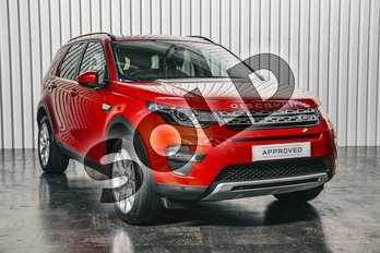 Land Rover Discovery Sport Diesel SW 2.0 TD4 180 HSE 5dr Auto in Firenze Red at Listers Land Rover Solihull