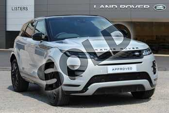 Range Rover Evoque Diesel 2.0 D180 R-Dynamic HSE 5dr Auto in Seoul Pearl Silver at Listers Land Rover Solihull