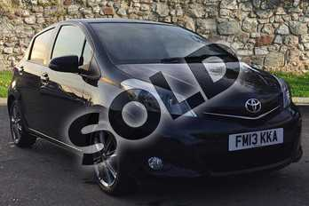 Toyota Yaris 1.33 VVT-i SR 5dr Multidrive S in Eclipse Black at Listers Toyota Boston