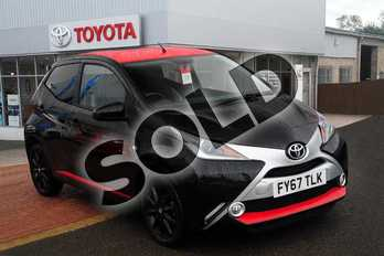 Toyota AYGO 1.0 VVT-i X-Press 5dr in Bold Black at Listers Toyota Grantham