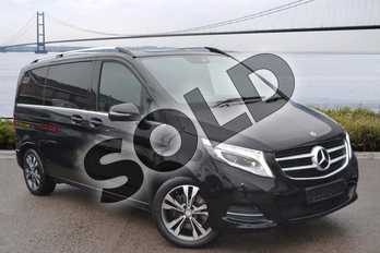 Mercedes-Benz V Class V 250 d AVANTGARDE Compact in obsidian black metallic at Mercedes-Benz of Hull