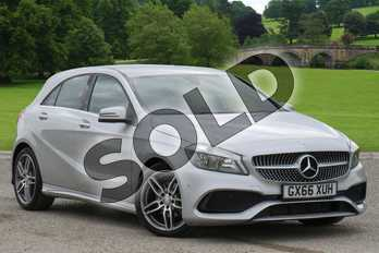 Mercedes-Benz A Class Diesel A200d AMG Line 5dr Auto in Polar Silver at Mercedes-Benz of Lincoln