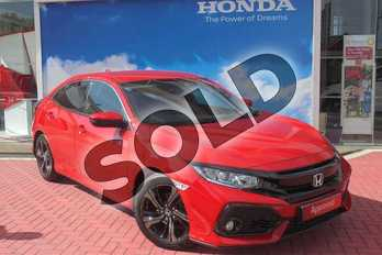Honda Civic Diesel 1.6 i-DTEC SR 5dr in Rallye Red at Listers Honda Coventry