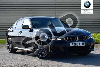 BMW 3 Series M340i xDrive 4dr Step Auto in Black Sapphire metallic paint at Listers Boston (BMW)