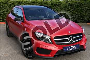Mercedes-Benz GLA Class Diesel GLA 220d 4Matic AMG Line 5dr Auto (Prem Plus) in Solid - Jupiter Red at Listers U Boston
