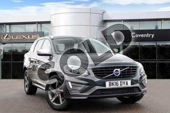 Volvo XC60 Diesel D4 (190) R DESIGN Lux Nav 5dr in Grey at Lexus Coventry