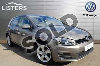 Volkswagen Golf Diesel 1.6 TDI 110 Match Edition 5dr DSG in Grey at Listers Volkswagen Coventry