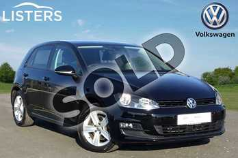Volkswagen Golf Diesel 2.0 TDI Match Edition 5dr in Black at Listers Volkswagen Loughborough