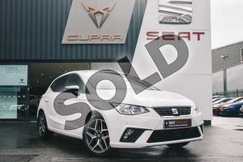 SEAT Ibiza 1.0 TSI 95 Xcellence 5dr in White at Listers SEAT Coventry