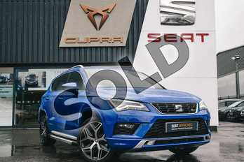 SEAT Ateca 1.5 TSI EVO FR Sport (EZ) 5dr DSG in Blue at Listers SEAT Coventry