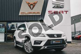 SEAT Ateca Diesel 2.0 TDI Xcellence (EZ) 5dr in White at Listers SEAT Coventry