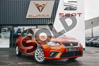 SEAT Ibiza 1.0 TSI 95 SE Technology (EZ) 5dr in Orange at Listers SEAT Coventry