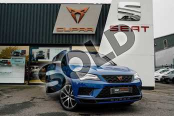 CUPRA Ateca 2.0 TSI 5dr DSG 4Drive (Comfort + Sound pack) in Energy Blue at Listers SEAT Coventry