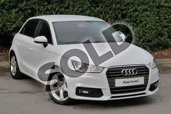 Audi A1 Diesel 1.6 TDI Sport 5dr in Glacier White, metallic at Worcester Audi