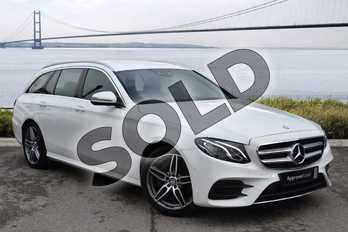 Mercedes-Benz E Class Diesel E220d AMG Line 5dr 9G-Tronic in polar white at Mercedes-Benz of Hull