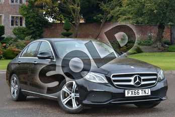 Mercedes-Benz E Class Diesel E220d SE Premium 4dr 9G-Tronic in Obsidian Black Metallic at Mercedes-Benz of Lincoln
