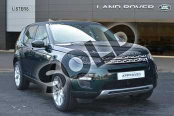 Land Rover Discovery Sport Diesel SW 2.0 TD4 180 HSE 5dr Auto in Aintree Green at Listers Land Rover Hereford