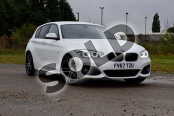 BMW 1 Series 118i M Sport 5-door in Alpine White at Listers Boston (BMW)