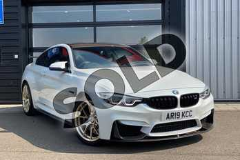 BMW M4 M4 2dr DCT in Mineral White at Listers King's Lynn (BMW)
