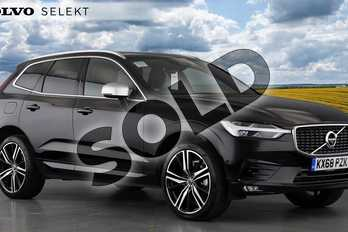 Volvo XC60 Diesel 2.0 D4 R DESIGN Pro 5dr AWD Geartronic in Onyx Black at Listers Volvo Worcester