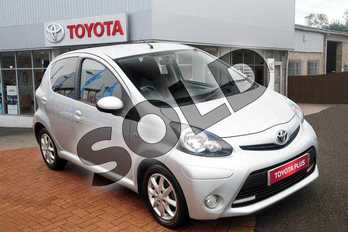 Toyota AYGO 1.0 VVT-i Mode 5dr in Crystal Silver at Listers Toyota Grantham