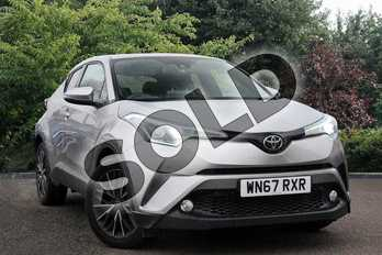 Toyota C-HR 1.2T Excel 5dr in Silver at Listers Toyota Nuneaton