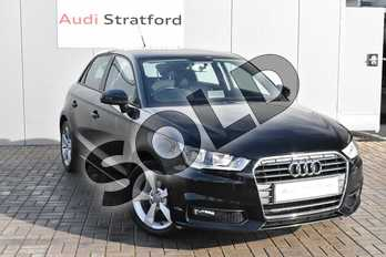 Audi A1 1.0 TFSI Sport 5dr in Brilliant Black at Stratford Audi