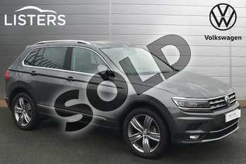 Volkswagen Tiguan 2.0 TDI 150 4Motion SEL 5dr in Indium Grey at Listers Volkswagen Stratford-upon-Avon