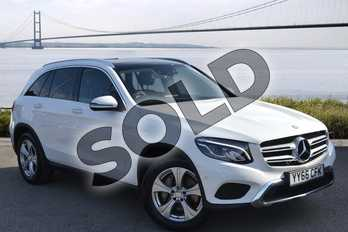 Mercedes-Benz GLC Diesel GLC 220d 4Matic Sport Premium 5dr 9G-Tronic in Polar White at Mercedes-Benz of Hull