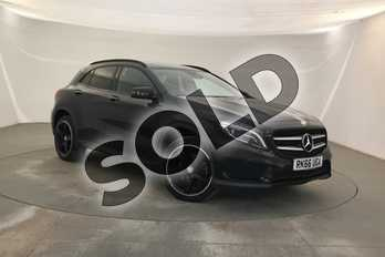 Mercedes-Benz GLA Class Diesel GLA 220d 4Matic AMG Line 5dr Auto (Prem Plus) in Cosmos Black Metallic at Mercedes-Benz of Lincoln