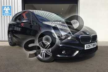 BMW 2 Series Active Tourer 218i Sport Active Tourer in Black Sapphire metallic paint at Listers King's Lynn (BMW)
