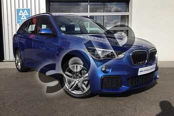 BMW X1 Diesel xDrive 18d M Sport 5dr Step Auto in Estoril Blue at Listers King's Lynn (BMW)