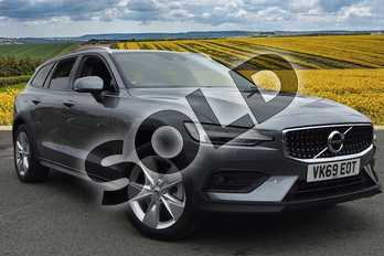 Volvo V60 Diesel Sportswagon 2.0 D4 (190) Cross Country 5dr AWD Auto in Osmium Grey at Listers Volvo Worcester