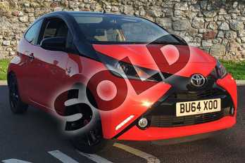 Toyota AYGO Special Editions 1.0 VVT-i X-Cite 3dr in Orange at Listers Toyota Coventry