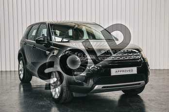 Land Rover Discovery Sport Diesel SW 2.0 TD4 180 HSE 5dr Auto in Santorini Black at Listers Land Rover Solihull