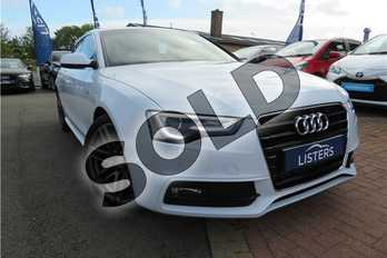 Audi A5 Diesel 3.0 TDI 204 S Line 5dr Multitronic (5 Seat) in Metallic - Glacier white at Listers Toyota Grantham