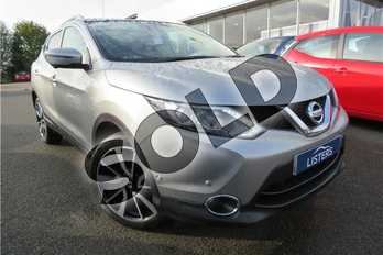 Nissan Qashqai 1.2 DiG-T Tekna 5dr in Metallic - Blade Silver at Listers Toyota Grantham