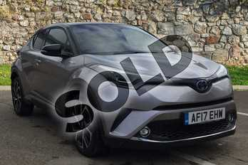 Toyota C-HR 1.8 Hybrid Dynamic 5dr CVT in Silver at Listers Toyota Boston