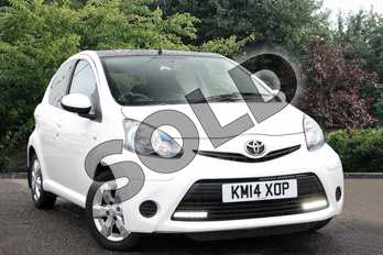 Toyota AYGO 1.0 VVT-i Move with Style 5dr in White at Listers Toyota Nuneaton