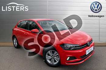 Volkswagen Polo Diesel 1.6 TDI SE 5dr in Flash Red at Listers Volkswagen Leamington Spa